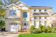 Beautiful, move in ready colonial. High ceilings, large rooms, wonderful kitchen, big bedrooms, full finished basement. Near all