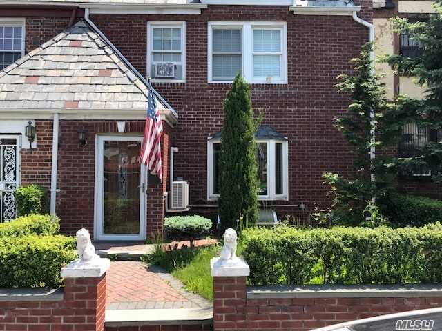 1 family house in East Elmhurst with 3 bedrooms, 1 full bath and 1 half bath. Full finished basement, attached garage and car port. Must see to appreciate.