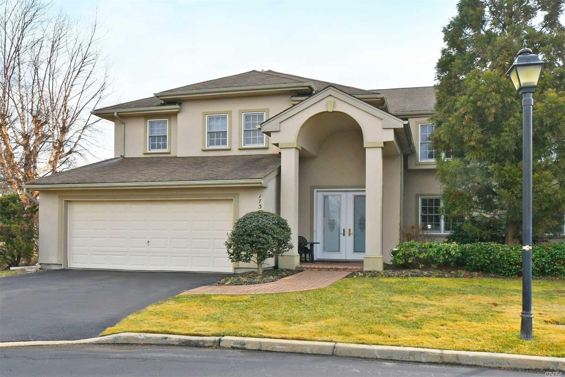 The Greens Gated Luxury Community 3/4 Bedroom, 3 Full Bath, Viscaya Colonial Model. Gorgeous Wood Floors, Soaring Ceilings, Open Concept Floor Plan And Beautiful Views Of The Pond And Golf Course. This Diamond Condition End Unit Offers Full, Finished Walk Out Basement, Trex Deck With Magnificent Views And A Spacious Floor Plan. The Lifestyle You Crave With Clubhouse, Indoor And Outdoor Pools, Tennis And Much More.