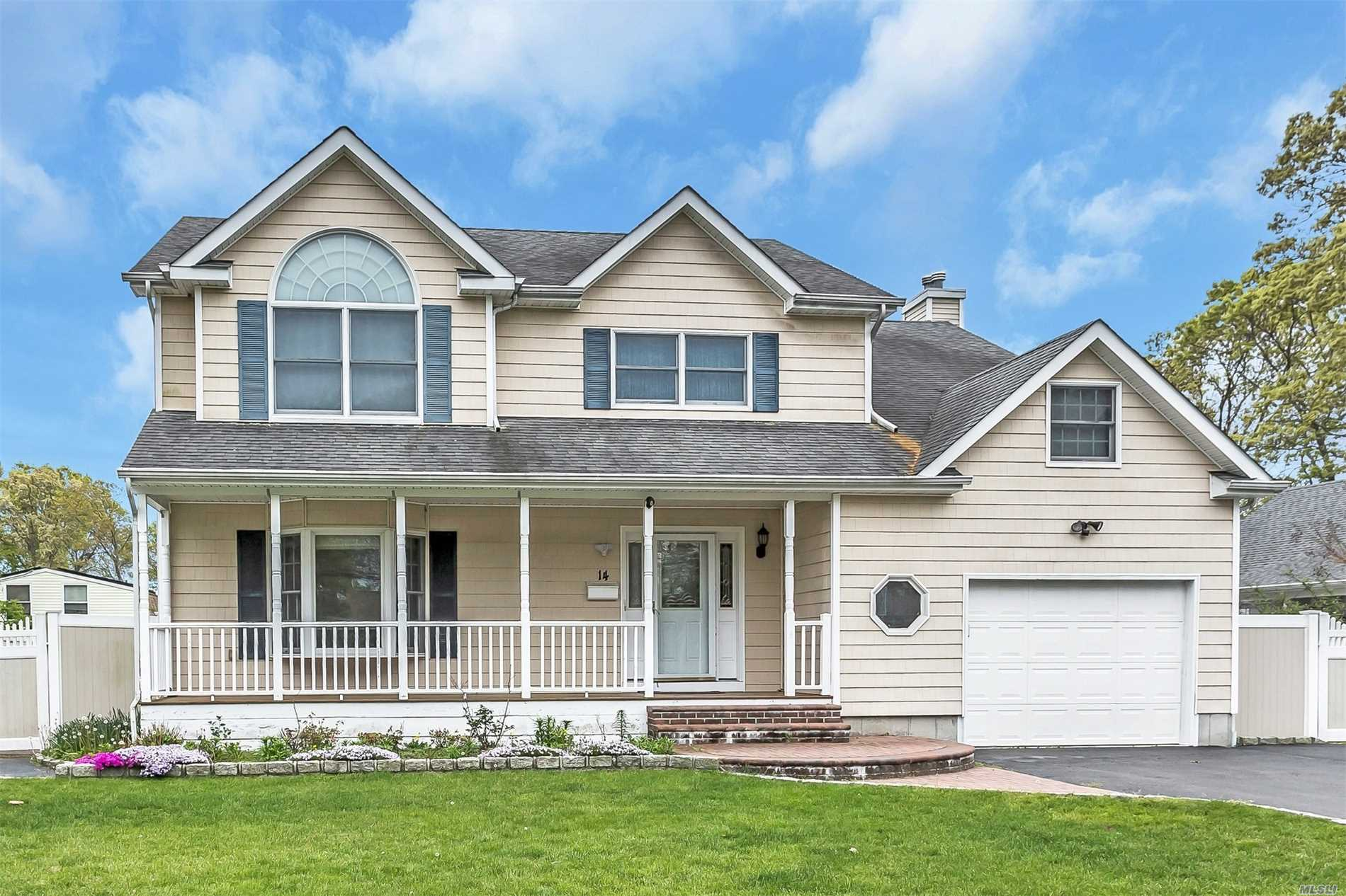 Custom Built Col w/4 Bdrms, 3-1/2 Bths Offers Hw Floors, Huge Eik W/Island, Granite Counter Tops And SS Appliances leading to A Formal Dining Rm, Fam Rm W/Fp, Mstr Suite W/Extra Lrg Jacuzzi Mstr Bth, Full Fin Bsmnt W/Ose, Frnt Porch, Beautiful Yard W/Ag Pool, Fully Pvc Fenced, Ig Sprinklers, 1-1/2 Gar. Anderson Windows Throughout, 2 Zone CAC And Much More!