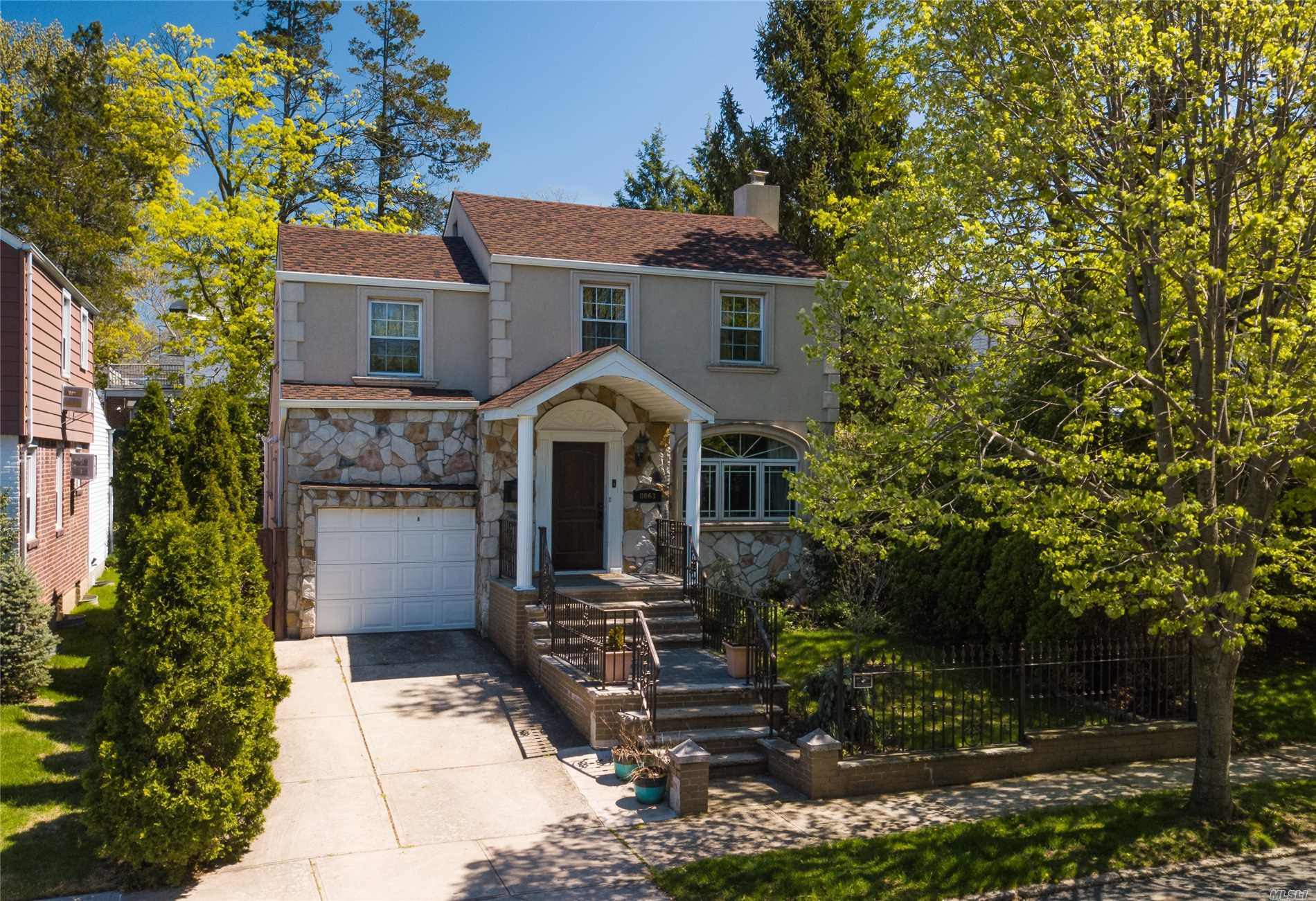 Move right into this fully updated stucco & stone colonial! A true turn-key home, this 3 bedroom, 3 bath beauty has been fully renovated, from top to bottom and inside and out! In addition there is a family room extension in the rear of the first floor.