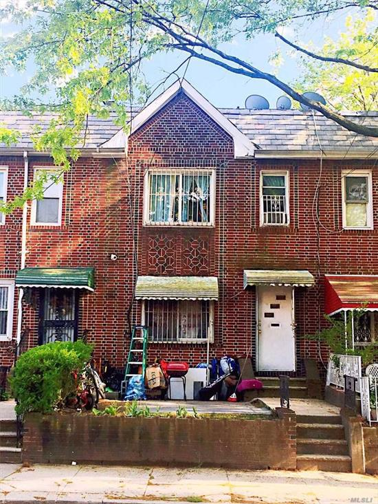 Renovated two years ago 1-Family Brick House Connveniently Located Near School, Library, Playground, Shops On Astoria Blvd And Transportation. P.S. 127, Q19/49/72 Bus Stops.