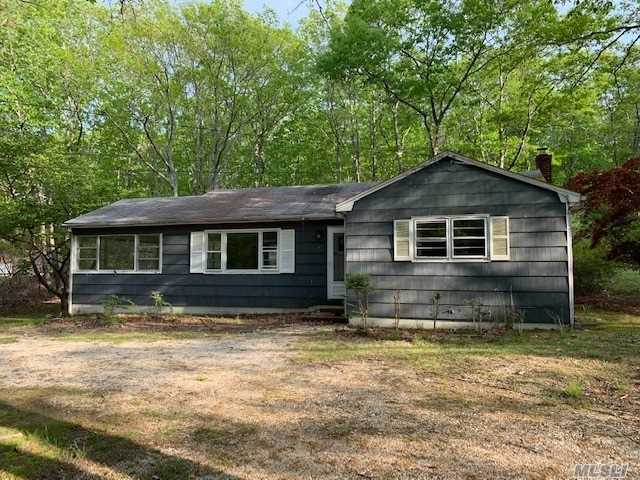 This Quaint Home Located Within One Of Noyack's Most Desirable Neighborhoods Is Just A Short Drive Or Walk To The Beach & The Prestigious Elizabeth A Morton Wildlife Refuge Center! There Are Two Bedrooms, One Full Bathroom Within This Quaint Home But Located On A Desirable Property! Call Now To See Before It Goes As It Won't Last Long!