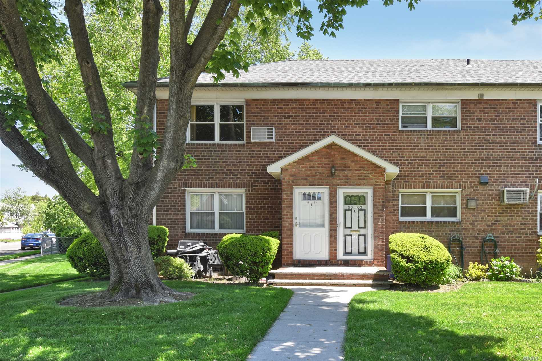 Just arrived- affordable 2 bedroom, 1 bath condo in beautiful Fresh Meadows. This upper unit is spacious and convenient to buses along Utopia Parkway, shopping, and schools. Won't last!