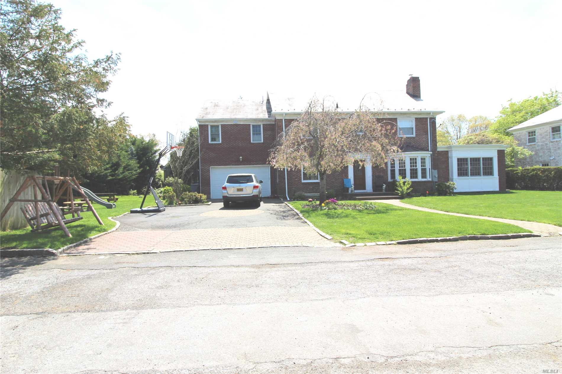 Beautiful spacious center hall colonial w/wood floors, Kosher Granite EIK, master bdrm suite on 1st and 2nd floors, large finished basement. can be rented unfurnished or with some furnishings (beds and miscellaneous furniture items).