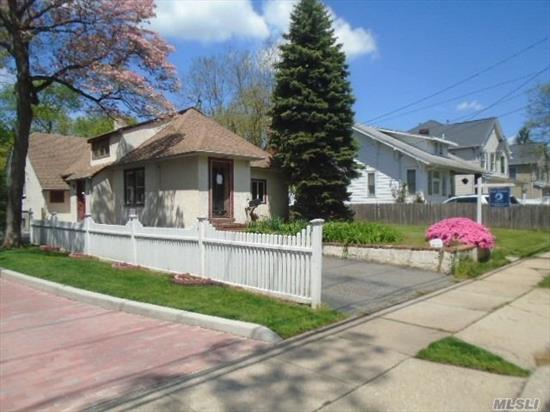 Bungalow Style Home. This Home Features 3 Bedrooms, 1 Full Bath, Dining Room, Eat In Kitchen & 1 Car Garage. Centrally Located To All. Don't Miss This Opportunity!