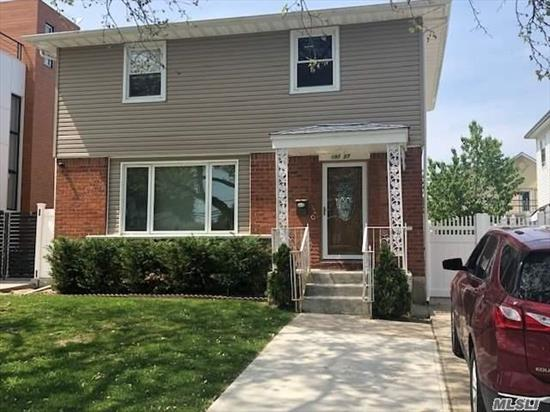 Spacious and Sunny Detached Colonial on a Great Block in Fresh Meadows. School District 26, Convenient to Transportation and Shopping. Beautiful Hardwood Floors Throughout! Many New Upgrades including New Roof, New Windows, New Doors, New Siding. Hi Efficiency Split A/C Units. Large 40x120 Lot Size can Be Expanded or Move Right In!