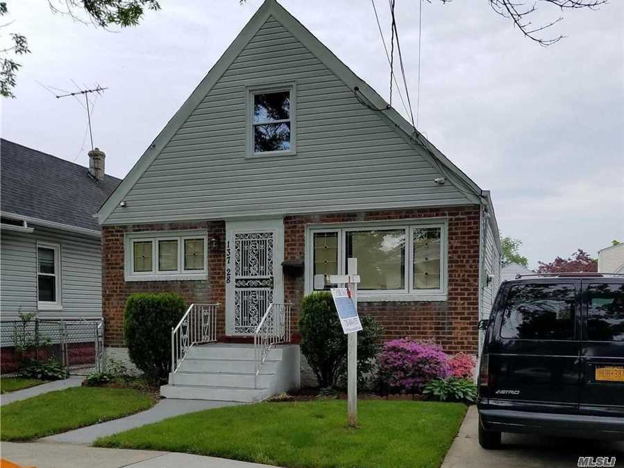 Beautifully Designed & Fully Gut Renovated,  Modern Kit & Baths, Gleaming Wood Floors, Central Air & Heat, New Electrical & Plumbing, Every Wall Fully Insulated. New Siding and Windows. Top Of The Line Appliances Too Much To List! This One Wont Last!