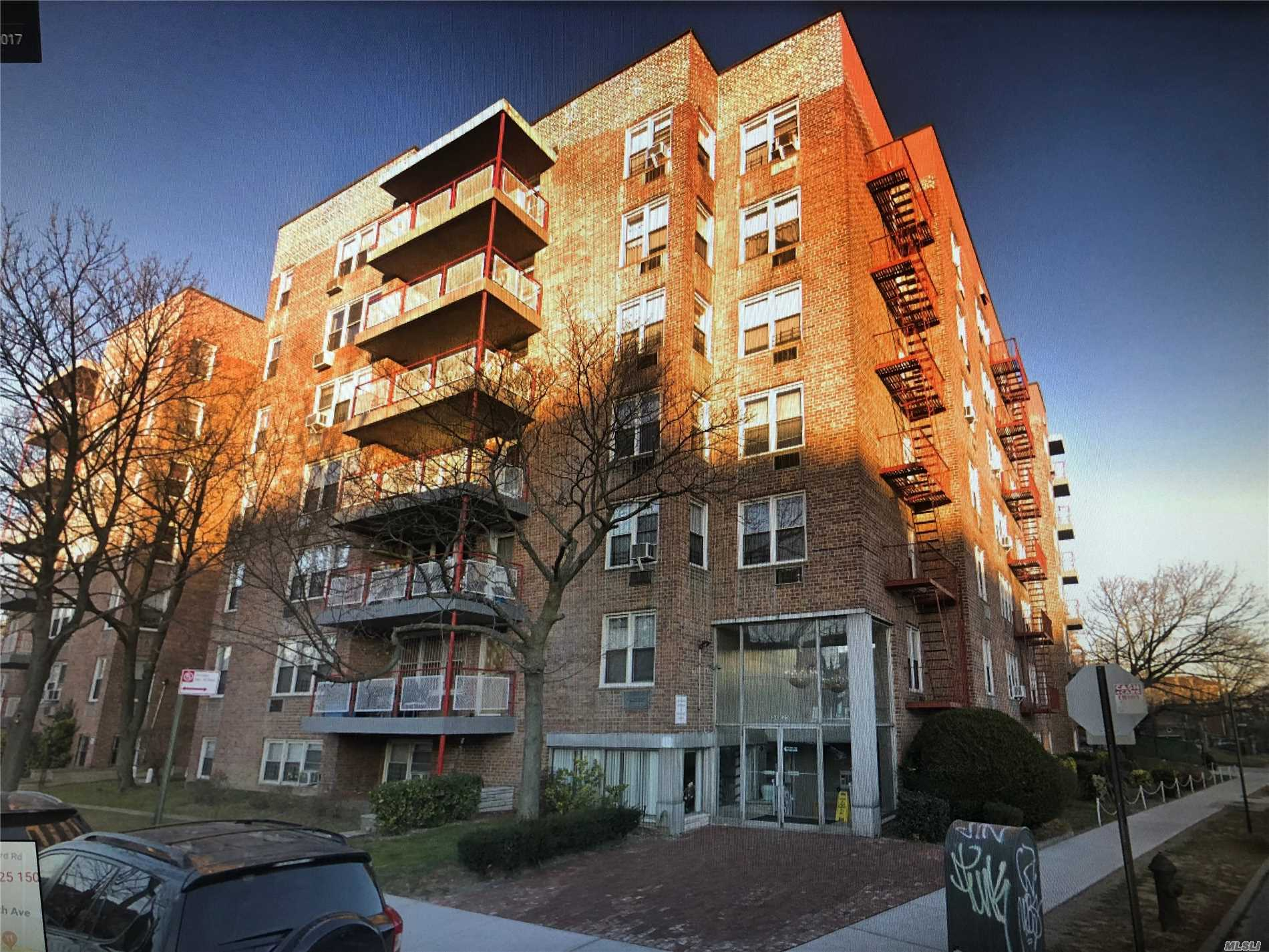 Location, Location, Location! This Junior 4 coop is situated in the heart of flushing.  Mins away to the LIRR Murray Hill Station. 1 Block away to Northern Blvd which has the Q13, Q28 and the Q15 Bus Line, Supermarkets, Restaurants and more. Sale may be subject to term & conditions of an offering plan.