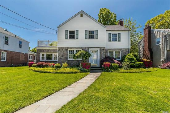 1/2 Signed Contracts - No more shows Spacious center hall Colonial with grand rooms and great potential on a beautiful block in RVC | Wilson elementary. Make this home your own with roomy bedrooms and a family room open to kitchen overlooking private yard. New gas boiler + water heater (2019), roof (2017), 3 ductless Acs, 200 amps electric, 2 car garage, IGS.