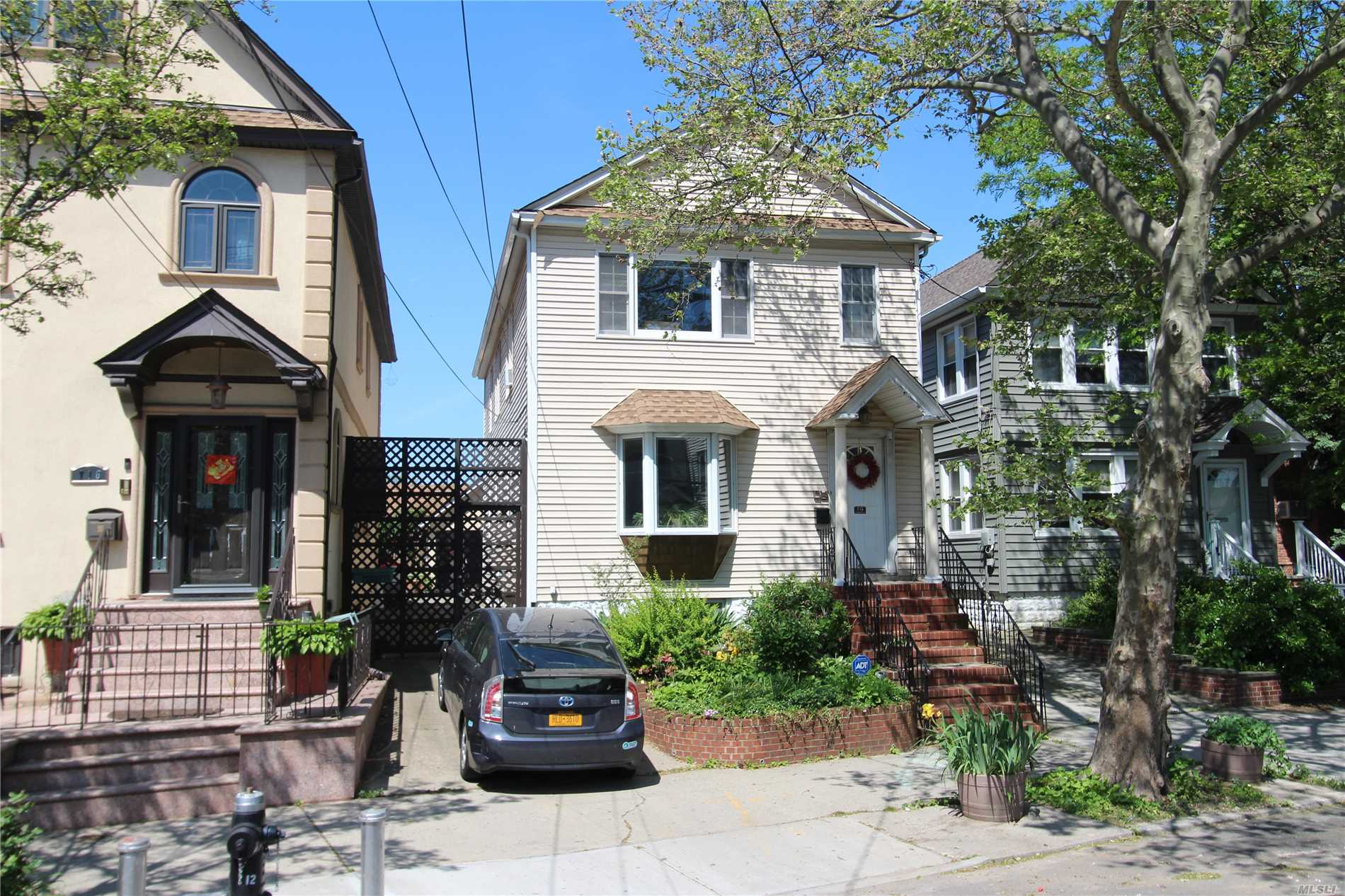 Detached Two Family Home. 31 X 120 Lot Size. Building Size 20 X 58 1st fl 20 X 48 2nd fl. 3 Bedroom Apt. Over 2 Bedroom Apt. Plus A Finished Basement With Bath. Private Driveway & Two Car Garage. Nice Yard For Entertaining. This Home Has A Lot Of Nice Details. It Is A Must See.