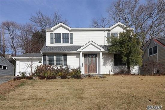 Beautifully Maintained 5BR, 2Bth Home in New Salem. Generously Sized Property w/ Room For A Pool. Granite Counters, SS Appliances,  New Roof 2018 and GAS CONVERSION.  Close to Shopping, Restaurants. Taxes are Being Grieved. Great opportunity to get into a great neighborhood with Port Washington Schools! Huge Price Adjustment! Don't miss this one!
