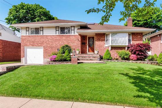 This Spacious Renovated Large 4 Level Split Brick Home Features 4 Bedrooms and 3 Baths, Marble Entry Foyer, Updated Kitchen With Gas Cooking, Skylight, New Bath, Cedar Closet, Lovey and Private Backyard, Jericho School, New To The Market! Move Right In!