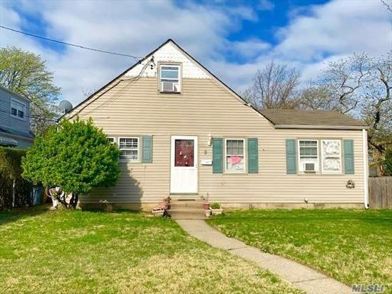 Opportunity Is Knocking!!! Lawrence: This 2 Family Detached Cape Features A Full Basement, 5 Bedrooms, 2 Full Bathrooms, A Private Driveway And More. This Property Is Conveniently Located Shopping Areas, Restaurants, And Public Transportation Etc. Don't Miss This One!