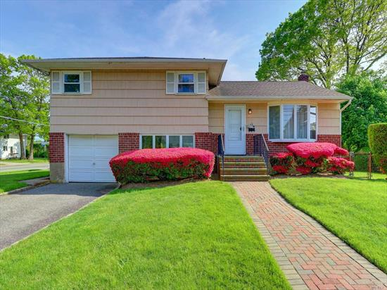 Great Opportunity To Live In The Desired Village of Massapequa Park! Community Offers Walking Distance To The LIRR, Village Stores & Restaurants, Brady Park & Massapequa Preserve/ Bike Trail, This 3 Bdrm, 1.5 Bth Split Level Style Home Features: New Electric Panel,  Roof & H/W/H (7 yrs old), Some Updated Windows, Hardwood Flrs, In-Ground Sprinklers (7 Zones), Gas Heat & Renowned Massapequa Schools SD#23, Use Your Own Personal Touches To Make This Your Dream Home!!!