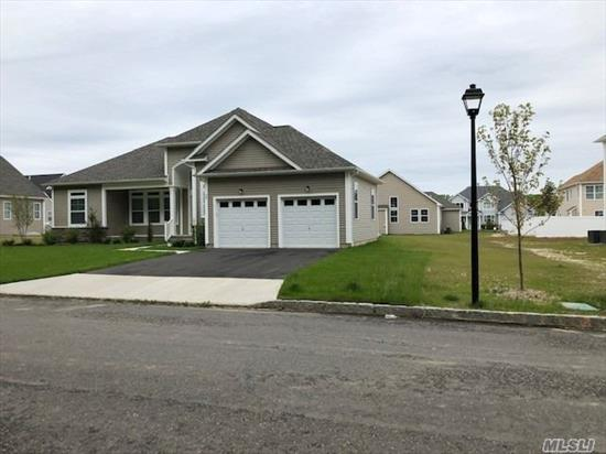 FAIRMOUNT RANCH AT COUNTRY POINT ESTATES IN RIDGE - ALMOST NEW - OPEN FLOOR PLAN, GREAT ROOM W/LAMINAE FLOORS, KITCHEN W/STAINLESS APPLIANCES, SOLID SURFACE COUNTERS OPEN TO GREAT ROOM, MASTER W/PRI BATH, 2 ADDL BEDROOMS, 2.5 TOTAL BATHS, FULL UN FIN BASEMENT W/EGRESS WINDOWS, 2 CAR GARAGE