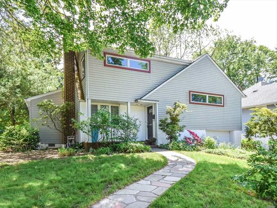 Beautifully Expanded Salem 4 Bedroom Split Featuring Living Room With Fireplace, Formal Dining Room With Vaulted Ceiling, Open Updated Kitchen With Sliders To Deck, Great Layout With Separate Master Suite, 4th Bedroom Could Be Possible Office, Central Air, Hardwood Floors and Great Yard!