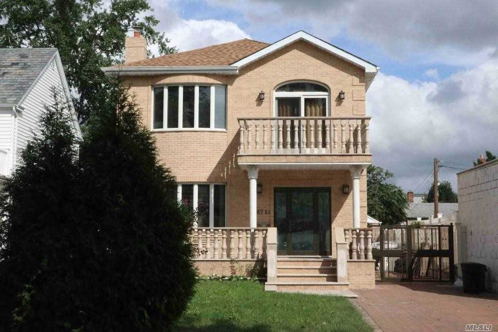 Well kept One family house features hardwood flooring throughout, formal dining room, eat-in kitchen with top brand stainless steel appliance. Extra spacious layout, approximately 1, 051 SF interior space each floor. Master bedroom with balcony, office and 2 more bedrooms as well as 2 bathrooms on the second floor. Finished basement and attic, private driveway, detached garage.*All info deemed reliable but is NOT guaranteed accurate.