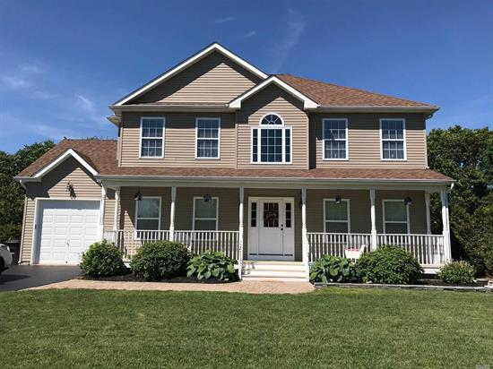 Beautiful 10 Year Old - 4 Bedroom 2-1/2 Bath Colonial Built On A Beautifully Landscaped .59ac lot. Low Taxes. Private and secluded 7 Home Cul De Sac. Kaufold's Shed Included As Well As All Custom Lighting Fixtures. Large Yard With Room For A Pool.