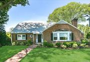 Exceptional & charming Canterbury gem! Spacious public rooms featuring crown moldings, custom wainscoting, and custom built-in bar with fireplace. Picturesque palladium windows, comfortable family Rm and inviting chef's kitchen. The scenic private property is an exquisite highlight of the home. Main floor master bedroom. Membership in East Hills Pool & Park. Reasonable taxes.