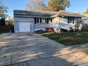 Beautiful updated 3 br full large basement ranch. gas heating, new roof, updated kitchen and bathroom, vinly siding and windows, igs, cac, lindenhurst schools. in lindenhurst village. large rear deck, one car garage with loft, above ground pool, pond in yard,  will not last!!