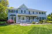 Located in highly sought after Mills Pond Estates, this one-of-a-kind expanded colonial has it all! The home boasts 9 foot ceilings, 6 (possibly 7) bedrooms & 4.5 baths. Hardwood floors flow seamlessly thru the luxurious open floor plan & right out to a resort-like property. Amazing outdoor kitchen overlooks an outdoor living rm & IG, SW heated pool w waterfalls. Updated kitchen & baths, full fin basement. Roof, siding, heat & AC all 5-8 yo, Andersen windows, whole house generator. Do not miss!