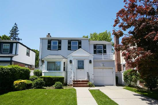 Located In Prestigious Hollis Hills! This home features 3 bedrooms, 1.5 baths, Living Room, Dining Room, Den, EIK, Finished Basement and a Spacious Yard. Located Just Off Union Turnpike with Easy Access to Highways, Public Transportation & Shopping.