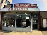 Well Maintained building on the heavily traveled main street close to public transportation, In the heart of East Rockaway village. This property consist of 1932 sq ft with two main entrances one on Main street and one on Atlantic ave. This location has been a East Rockaway Village landmark since 1967. Don't Miss This Amazing Opportunity In This Revitalized Community.
