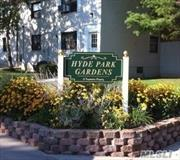 Mint 3 Bedroom, 1 Bath, first floor unit in Garden Apartment Complex. Updated Kitchen, Hardwood floors throughout. Washer and Dryer unit. Outdoor Patio, Barbecue area and Playground. No Board Interview required. Parking is waitlisted. Maintenance includes: Electric, Heat, Taxes. No Flip Tax!