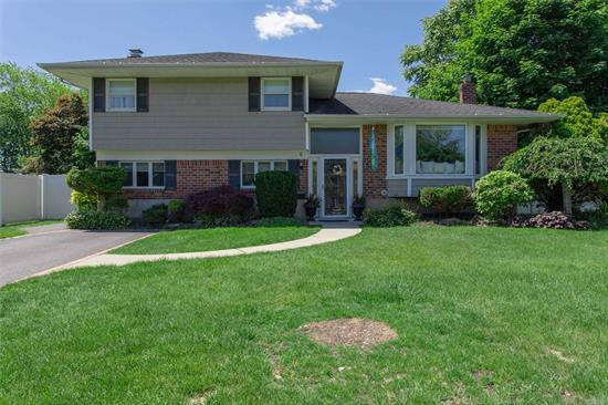 Diamond 3 Br, 2 Bath Split has everything new! Beautiful open floor plan, new kitchen, new Baths, new burner, Full Finished Basement with Wood Floors, Expanded Den with Fireplace, New Deck, 2 Sets of Sliders! Too much to List!