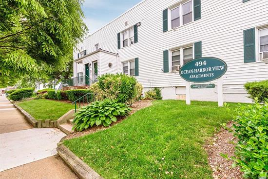 1 bedroom, 1 bathroom, well maintained apt. at Ocean Harbor View. New appliances. Situated at the foot of the Nautical Mile! Close to shopping and transportation.