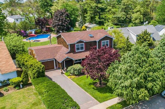 Elegant custom home offers unparalleled craftsmanship and exceptional amenities! Beautiful kitchen with Sub Zero Stainless steel appliances and Granite counter. Gas Cooking, Wood Floors throughout, Patio at the back, New PVC Fence, New Roof High hats, private deck and patio invites comfort. Full House alarmed with equipment already paid off. You Cannot miss a relaxing Ing pool with a slide and diving rock .Your family and loved ones will enjoy the spacious and professionally landscaped backyard.
