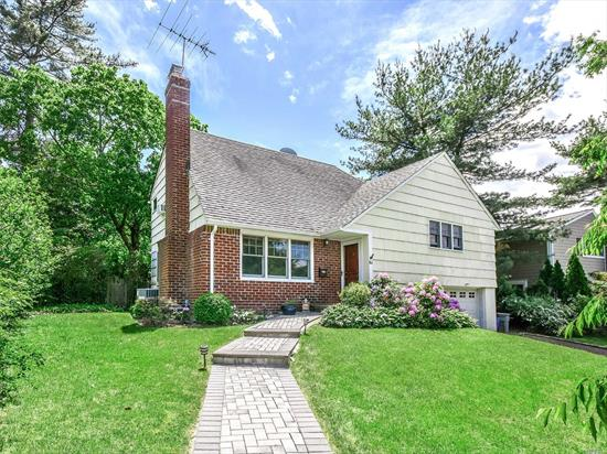 Beautiful Sun Drenched Salem Split Offering Living Room with Fireplace, Dining Room with French Doors to Private and Beautifully Landscaped Back Yard, Large Master Suite plus Two Additionl Bedrooms, Hardwood Floors, Central Air, All Very Convenient To Train And Schools.