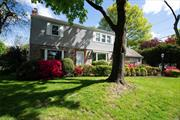Beautifully Maintained Center Hall Colonial. This home features large bright and spacious rooms. Nice Entry Hall on one side a Formal Living Room with working fireplace and the other side a Formal Dining Room with a large picture window. Eat in Kitchen leads into a cozy den. First floor Full Bath Mater Bedroom with Bath. Two separate Bedrooms with Full Bath.