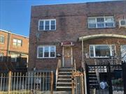 Brick 1 Family, Semi-Attached home with private driveway and full basement in Elmhurst, 14 Minute Walk To Subway M And R And 2 Minute Walk To Q58/Q59 Bus...Located near schools, shopping and more. Won't Last, Call Now!