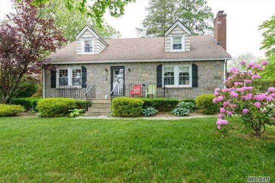Charming 4 bedroom house, Bright and Spacious, On a Corner Street, CAC, fireplace, LR/fp, FDR, Kitchen, 2 bathrooom, 1 car garage, terrace, Professionally Landscaped.