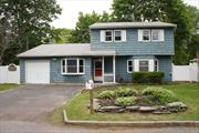 3 Bedrm Colonial on quiet cul de sac in East Islip. Updated eik w/new refrigerator, dining room, living room, family room, 1 car garage and attic space. New carpeting. Walking distance to train. A must see!!