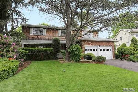 Welcome to one of the largest homes in the neighborhood. Custom Built Home 3700 sq ft (approx) 6 Br, 6 Bath, LR w/fp, FDR, 2 Dens, plus HUMONGOUS 1300 sq ft (approx) Bsmt with over 7' ceilings! 3 yr old Gas Heat, 10 yr Cedar Shake Siding, CAC, Wake Up This Sleeping Beauty and You Will Have The Most Amazing Home In The Land! It's Truly One-of-a Kind. Successful Tax Grievance 2019-20. 19% Reduction + New Asses. will reduce further. Flood zone X. No water ever!!