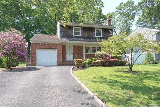 Priced to Sell, Well Maintained Colonial in Desirable Birchwood Development & Commack School District. Formal Dining Room Has Sliding Glass Door to Large Shaded Backyard. Features 3 Bedrooms, 1.5 Baths, Full Basement & 1 Car Garage. Needs Updating.