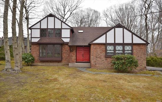 One of a Kind Tudor at the Rollingwood with Deeded Beach Rights On The Beautiful North Shore of Long Island. Must See & Be Home