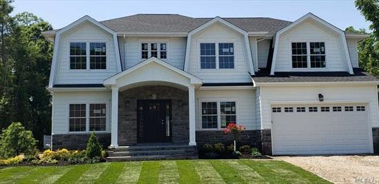 Eenie Meenie Miney Mo...Which model will you choose? #1 Sophisticated Stucco facade or #2 Hamptons Style w/double wide front porch! This builder aims to please your taste! You select the style & we help with the rest! Oversized, midblock lot in Jericho w/the countries #1 rated High School! This home features a master ste on 1st flr w/addit'l master ste on 2nd flr & a jr master as well! Eye pleasing appointments adorn this stunning custom home! Just waiting for your custom, personal style!