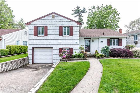 Amazing Split Level 3 Bed 3 Bath Home In The Mill Brook Sec Of Valley Stream. This Home Features Hardwood Flooring, A Spacious Den On The First Floor With A Possible 4th Bedroom, Sun Room, Screen Patio In The Yard With Custom Made Benches. The Inground Sprinklers Makes For Easy Maintenance.