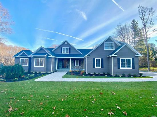 New Construction Is Almost Complete! Includes Gourmet Kitchen With Pantry, Formal Dining Room, 4 Bedrooms, 3.5 Bathrooms, 2 Car Attached Garage, And Full Basement With Inside Entrance from Garage. All On 1.5 Acres Of Land. Local To All The North Shore Has To Offer Including Parks, Beaches, Golf, Shopping, And More.