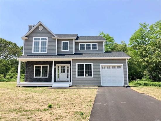 Beautiful new Victorian in cul-de-sac ready to close. This house is already build and ready to be moved into. Open concept LR/DR/KIT, Den, Full basement w/OSE Master w/full bath w/jacuzzi & walk in closet, oak floors There are additional new construction costs. Hurry this won't last