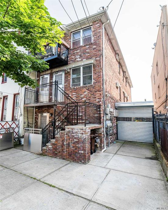 Young Construction. Build in 2004, Good Condition. 3-Family House With 3 Stories Plus High Ceiling Basement, Total 11beds 5baths.Spacious Driveway For Multiple Cars, Separate 3 Meters And 3 Boilers. Near Atlantic Ave Forr: Supermarkets, Restaurants, Pharmacies And More. Walk To A And J Train Stations. Delivered Vacant, Rent Out Easily, High Cap Rate 7.3%.Great Investment!