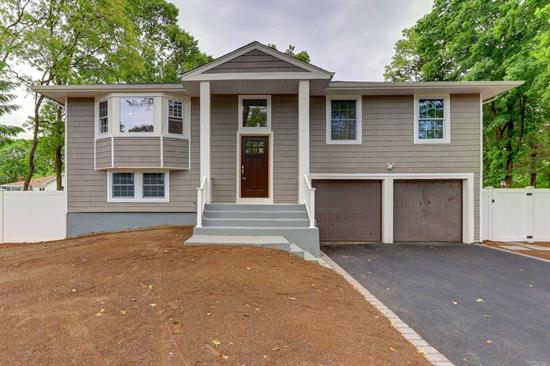 Complete renovated Hi Ranch on dead end street, featuring 4 Bedrooms, 2BR, Den W/ Fireplace , hardwood floors, updated kitchen w/ granite counters, stainless steal appliances, Gas and central air, Large back yard with plenty of room for hosting. Th