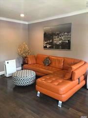 Completely renovated and updated 2 Br garden view apartment in one of the nicest sections in Whitestone . New Kitchen and Cabinet, New Bath, New Floors, New Appliances including fridge, stove, washer, dryer, and dishwasher, Newly upgraded plumbing and electric systems. 2 air-conditioners. Everything is New! You just need to bring your toothbrush.