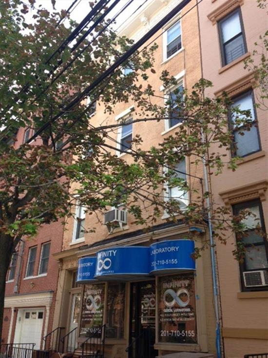 This 4 family (3 units over 1 commercial) is a great opportunity to own a multifamily in Hoboken.