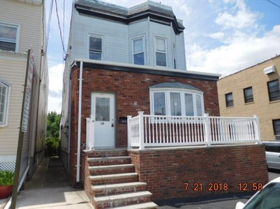 Great investment opportunity. 2 family on a double lot. Spacious layout, great potential. Semi-fin bsmt, in-ground pool, driveway parking. Don't miss this!