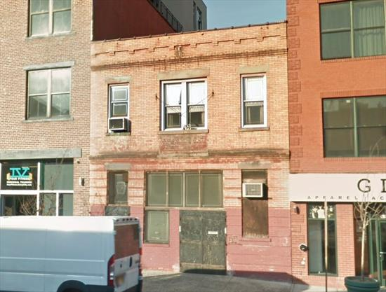 Ideal location for development. This two story building has a 2, 375 SqFt per floor for a total of 4, 750 SqFt. The McGinley Square location is the future of development along with Journal Square. Statue of Liberty view from roof.